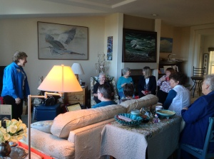 Planning and singing at our chorus retreat in January, 2015